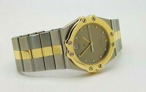 Chopard St. Moritz 8023 Steel / Gold Factory Diamonds Dial Unisex Watch