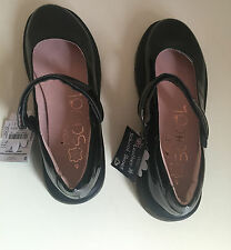 Next Girls Black Patent Leather  School Shoes Size Uk 5/38 &  6/39