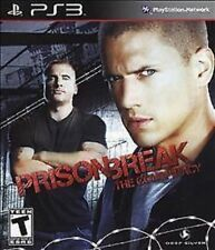 Prison Break: The Conspiracy USED SEALED (Sony Playstation 3) PS PS3
