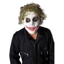 The Joker Green Wig Mens Batman Movie Dark Knight Fancy Dress Costume Wig