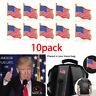 10PCS American Flag Lapel Pin United States USA Hat Tie Tack Badge Pin