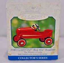 Hallmark Keepsake Ornament 1940 Garton Red Hot Roadster 2000 The Winner Circle