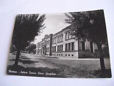 Mantova - Viadana Istituto Tecnico Ettore Sanfelice  spedita f. g. 1954 pieghina