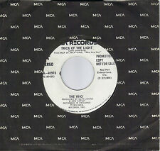 THE WHO  Trick Of The Light  rare promo 45 from 1978