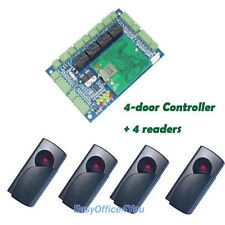 4 Doors Access Control Board  Access Control Panel+4 RFID Readers
