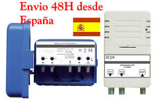 Kit Amplificador de Mastil TDT Radio y Analogica Mast Amplifier Kit TDT Radio