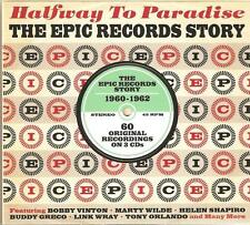 HALFWAY TO PARADISE THE EPIC RECORDS STORY 1960 - 1962 - 3 CD BOX SET