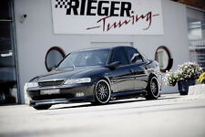 Rieger Spoilerlippe ABS Schürze Spoiler für Opel Vectra B / NEU / RIEGER-Tuning
