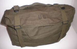 U.S.ARMY* :: M-1945 GENERAL PURPOSE BAG WITH WATERPROOF LINER, nice,