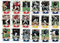 2000 SP AUTHENTIC BASEBALL LOT OF 66 DIFFERENT CARDS