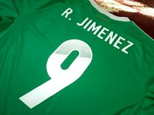 Jersey mexico Raul Jimenez (L) adidas 2013 Wolves America authentic