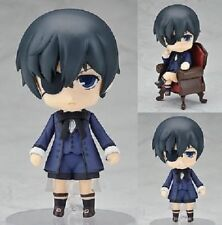 Anime Black Butler Ciel Sebastian #68 #117 Nendoroid PVC Figure No Retail Box