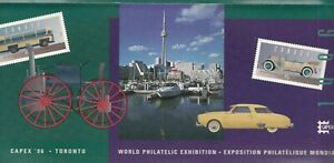 CANADA POST PUBLICITY FOR CAPEX 96 - TORONTO SITE & CINDERELLAS CAPEX 96 STAMPS