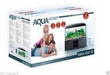 Aqua4Start Aquarien Set 54L Becken Komplett Aquarium Glas 60x30x30 Nano LED