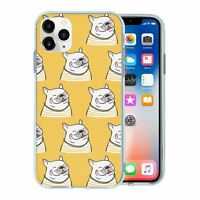 For Apple iPhone 11 PRO Silicone Case Dogs French Bulldog - S944