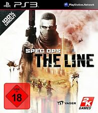 Sony PlayStation ps3 3 juego *** Spec Ops: the line *** neu*new*18