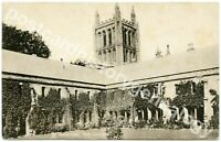 Hereford Cathedral Postcard, The College, Raphael Tuck & Sons