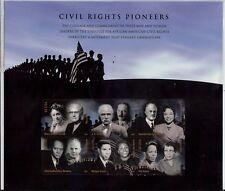 SCOTT U.S. #4384 2009 42¢ Civil Rights Pioneers - SHEET OF 6 STAMPS