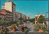 AA6913 Albenga ( Sv ) - Vorplatz Bahnhof - Postkarte Postcard - Vintage Postcard