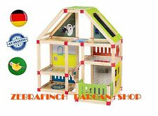 Playtive junior wooden doll's house 116 pcs(  TWO )