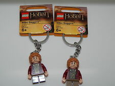 Lego Minifigure Lot Of 2 Lord Of The Rings Bilbo Baggins Key Chain