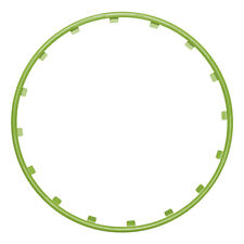 "Alloy Wheel Protectors - Rim Ringz 20"" Green"