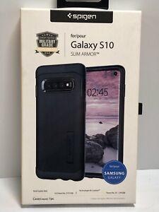 Spigen Slim Armor Case (black) for Samsung Galaxy S10     RJ058