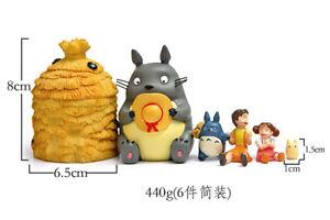 6pcs/set Mini Tonari no Totoro Anime action figure PVC Collection Toy