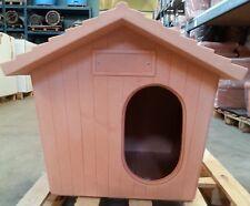 Cuccia da esterno in resina per cani taglia media