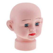Baby Children Mannequin Manikin Head Hair Wig Cap Hat Stand Glasses Display