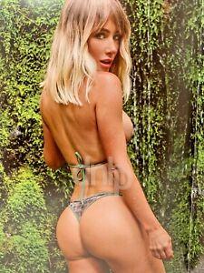 Sara Underwood 24x12 Sexy Thong Rain Forest Poster Print