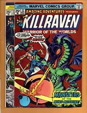 Amazing Adventures #32 & 33 Killraven War Of The Worlds FN/VF to VF+