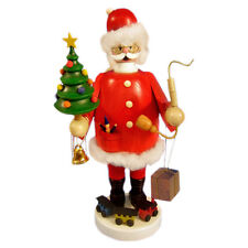 Standing Holding Christmas Tree Incense Burner Smoker Made In Germany