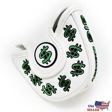 Cash Money MALLET  Putter Cover Headcover For Scotty Cameron Odyssey 2ball