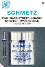 Schmetz Zwillingsnadel Doppelnadel 4,0/75 STRETCH TWIN 130/705 Nähmaschinennadel