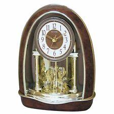 Rhythm Classic Nightingale Musical Motion Clock w/ Swarovski Crystals #J444379