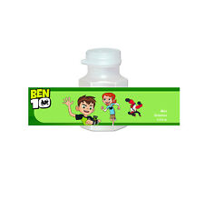 20 Ben 10 Party Favors Bubbles Labels for Treat Goodie Loot Gift Bags