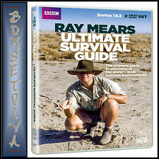 RAY MEARS ULTIMATE SURVIVAL - COMPLETE SERIES 1 & 2 *BRAND NEW DVD***