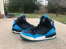 """2014 Air Jordan Flight SC-3 """"Powder Blue"""" Size 6y GS Basketball"""