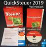 Lexware QuickSteuer 2019 Vollversion Box, CD, Handbuch (PDF) Steuerjahr 2018 NEU