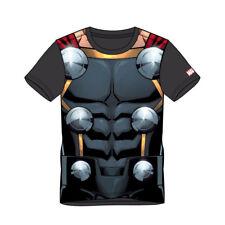 Marvel Comics Thor Mens Suit Sublimation T-shirt Medium Multicolour