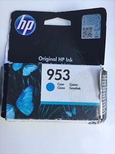 Genuine HP 953 Cyan Ink Cartridge for HP OfficeJet Pro 8210 8710 8720  Tatty Box
