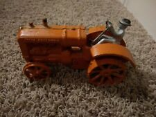 Vintage Allis Chalmers Cast Iron Toy Tractor