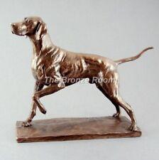 More details for bronze pointer sculpture / figurine by david geenty