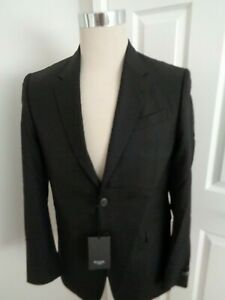 Paul Smith 'The Byard' Black Gents Tailored Fit  Suit Jacket size 38