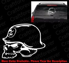METAL MULISHA SKULL Military/US Army Car Window/Bumper Vinyl Decal/Die Cut SK002
