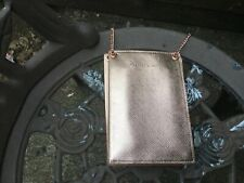 Charles & Keith Rose Gold Small Crossbody Bag Purse New without Tags