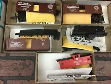 Athearn HO Scale Train Cars Lot of 5