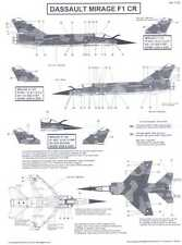 Berna Decals 1/72 DASSAULT MIRAGE F1 CR French Jet Fighter