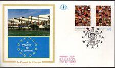 S1012/113+ FDC     ENVELOPPE  1er JOUR  CEF CONSEIL DE L'EUROPE